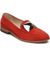 juno st loafers låga skor röd shoe the bear