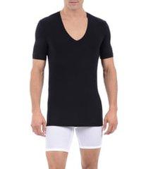 men's tommy john cool cotton deep v-neck undershirt