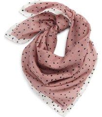 women's madewell bandana, size one size - purple