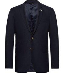 slim club blazer blazer colbert blauw gant