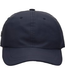 rick owens hats in black polyamide