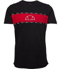 el sesia tee t-shirts short-sleeved svart ellesse