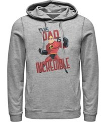 disney men's the incredibles this dad, pullover hoodie