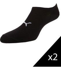 pack de medias negras puma mostro sneaker px2