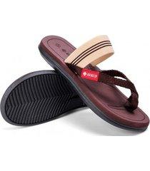 sandalias casuales de verano para hombre-marrón