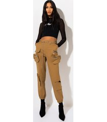 akira play the game belted jogger pants