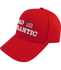 gorra estados unidos rojo