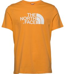 m s/s easy tee t-shirts short-sleeved orange the north face