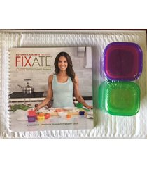 21 day fixate cookbook and containers new sealed beachbody
