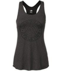 blusa mujer graphic play hard tank the north face