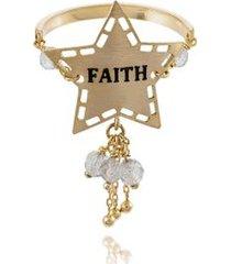 anel wishes faith amarelo labradorita - 17