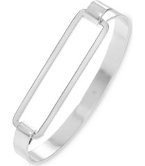 alfani double bar tension bangle bracelet, created for macy's