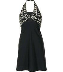 chanel pre-owned 2001 cc beach dress - black