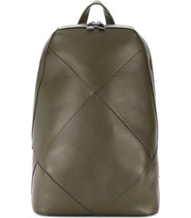 bottega veneta maxi weave backpack - green