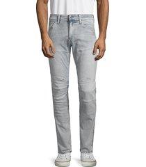 g-star raw men's moto skinny jeans - sun faded wash - size 34 32