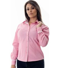 camisa pimenta rosada da poá danny