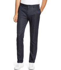 men's vince camuto tech suit pants, size 32 x 32 - blue