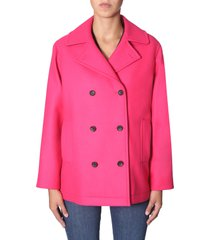 ps by paul smith double-breasted coat