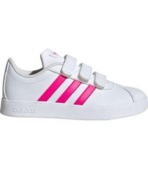 zapatilla blanca adidas vl court 2.0 cmf c