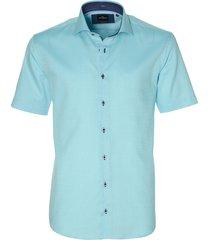jac hensen overhemd - modern fit- turquoise