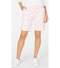 tommy hilfiger anchor chino shorts, created for macy's