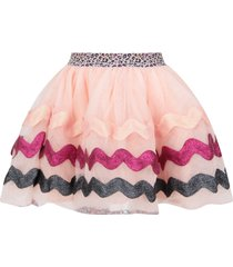 billieblush pink skirt for girl with waves