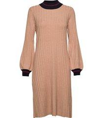 jaqueline knit dress jurk knielengte roze morris lady