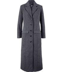 cappotto lungo in simil lana (grigio) - bpc bonprix collection