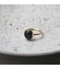 pierścionek z onyksem