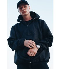 kurtka softshell black hoodie