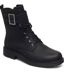 orinoco2 lace shoes boots ankle boots ankle boot - flat svart clarks