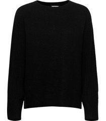 ana stickad tröja svart by malene birger