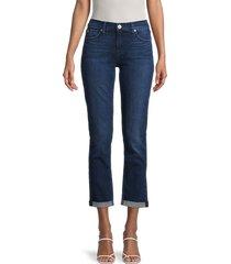 hudson women's krista kick flare jeans - blue - size 30 (8-10)