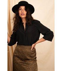 femme9 blouse zwart donnee