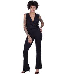 macacã£o flare amazonia vital new yela black preto - preto - feminino - dafiti