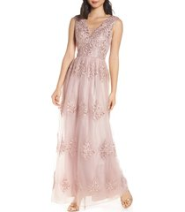 women's chi chi london aubree embroidered evening dress