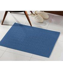 toalha de piso dohler, royal, felpudo - azul