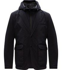 goodsir gewatteerde jas met hoodie