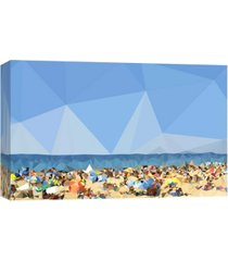 ptm images, beach fragments c decorative canvas wall art
