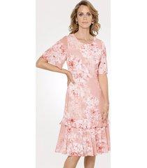 jurk mona roze