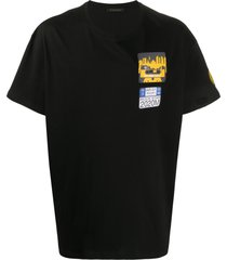 yts0041 embroidery oversize t-shirt
