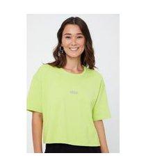 t- shirt moletom silk urbn verde lima - pp