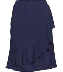 sophie kort kjol blå stig p