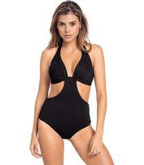 swimwear tankini negro leonisa 190976