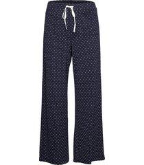 adult truesleep pants in modal pyjamasbyxor mjukisbyxor blå gap