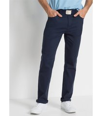 classic fit stretch broek, straight