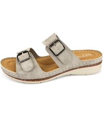sandalia jola gris chalada