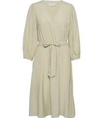 fideliasz dress knälång klänning grön saint tropez