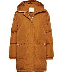 okina jacket 10179 parka lange jas jas oranje samsøe samsøe
