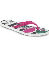 sandalias floora fucsia para mujer havaianas